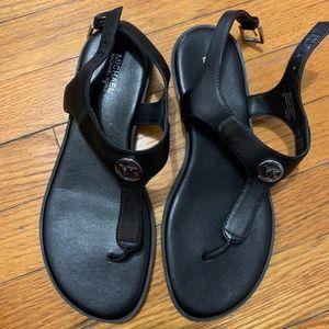 Michael Kors black sandals